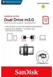 Флешка SanDisk Ultra Dual SDDD3-032G-G46 32GB