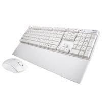 Клавиатура+Мышь Metoo C300 White Wireless