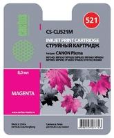 Картридж струйный Cactus CS-CLI521M