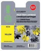 Картридж струйный Cactus CS-CLI521Y