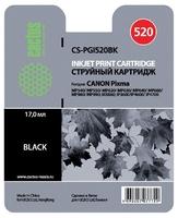 Картридж струйный Cactus CS-PGI520BK