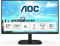 """ЖК Монитор 23.8"""" AOC 24B2XD/ 1920x1080/ IPS / 75 Гц/ DVI, VGA/ Black"""